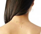 5.1cm of Extender Chain, Removable and Adjustable Sterling Silver or 14k Gold Filled - Extra Links