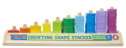 Counting Shape Stacker - Stacking Toy by Melissa & Doug