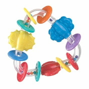 Squeek Triangle Teether Rattle
