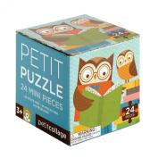 Petit Collage Petit Puzzle, Reading Owls