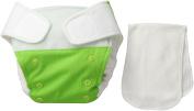 BabyKicks Premium Cloth Nappy Hook and Loop Closure, Meadow