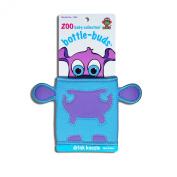 KidKusion Bottle-Bud Koozie, Blue Hippo