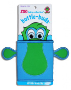 KidKusion Bottle-Bud Koozie, Green Monkey