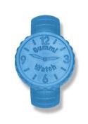 KidKusion Gummi Teething Watch, Blue