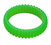 KidKusion Gummi Teething Bracelet Cable, Green
