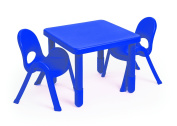 Angeles MyValue Royal Blue Table and Chair