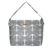 Foxy Vida Prive Nappy Bag, Anchors