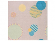 Joy Carpets Playful Patterns Children's Baby Dots Area Rug, Multicoloured, 0.9m x 1.5m