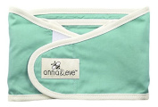 Anna & Eve Swaddle Strap Arms Only Baby Swaddle, Aqua, Small