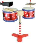 Vilac Kids Drum Set Musical Toy