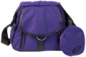 Go-Go Babyz Sidekick Nappy Bag Baby Carrier, Purple