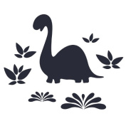 Wallcandy Arts Chalkasaurus Chalkboard Decal
