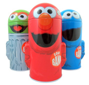 Sesame Street Character Shape Dome Tin Bank with Arms, Pack of 3