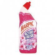 Harpic Active Fresh Toilet Gel Pink Blossom 750ml