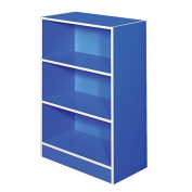 Solano Bookcase Blue 3 Tier