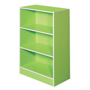 Solano Bookcase Green 3 Tier