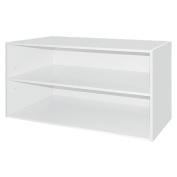 Living & Co Wardrobe Storage Shoe Rack White