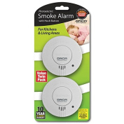 Orca Photoelectric Smoke Alarm with Hush 2 Pack