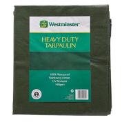 Westminster Tarpaulin Green 140gsm 3m x 3.7m