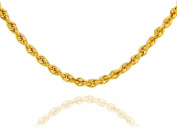 10k Solid Gold Rope Chain 1.5mm