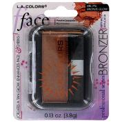 La Colours Bronzer w/Brush Glow - Small BBL396