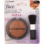 La Colours Bronzer w/Brush Glowing - Large BBR441