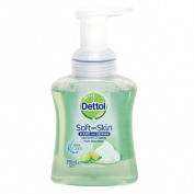 Dettol Touch of Foam Hand Wash Pump Lime & Mint 250ml