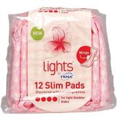 Tena Light Slim Pads Wings 12s