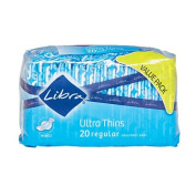 Libra Ultra Thin Pads Regular Wing 20s