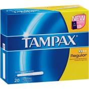 Tampax Tampons Regular 20s