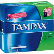 Tampax Tampons Super 20s