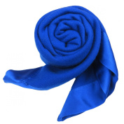 Pure Cashmere Baby Blanket Royal Blue 3 Ply