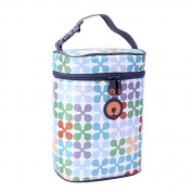 Boppy Bottle Bag, Jacks Print, Grey
