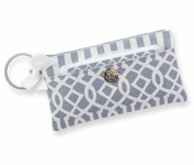 Mud Pie Lil Biter Bangle Bag, Grey