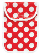 AM PM Kids! Nappy Clutch, Red Dots