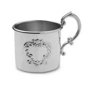 Empire Raised Design Pewter Baby Cup