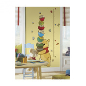 Pooh Growth Chart Wall Decal