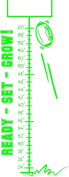 Top Selling Decals - Prices Reduced : Football Growth Chart Picture Art - Kids Bed Room - Peel & Stick Sticker - Vi...