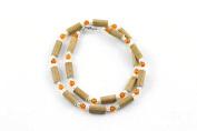 Healing Hazel Hazelamber Women/teens Necklace, Pearl/amber