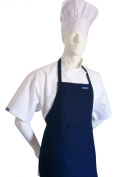 Midnight Black Colour Apron for Teens From CHEFSKIN