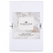 Maison d'Or Pillow Case 400 Thread Count Standard White
