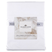 Maison d'Or Sheet Set 400 Thread Count White King