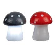 Toadstool LED Light Assorted Colours