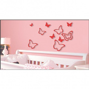 Wall Stickers Glitter Butterfly