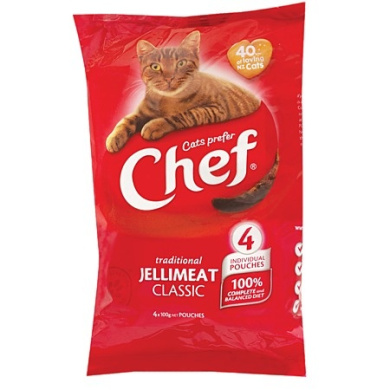 Chef Jellimeat Pouches 4 Pack