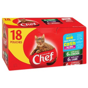 Chef Loaf Variety Pouches 18 Pack
