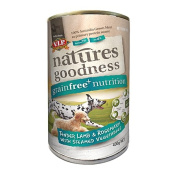 VIP Natures Goodness Dog Lamb/Rosemary and Steamed Vegetables 400g