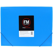Filemaster Vivid A4 Document Wallet Brights Ice Blue