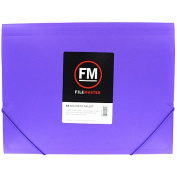 Filemaster Vivid Document Wallet Brights Passion A4