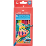 Faber-Castell Water Colour Pencils 12 Pack